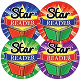 Star Reader Stickers (35 Stickers - 37mm)