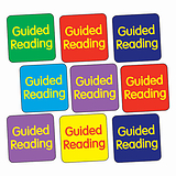 Guided Reading Stickers (140 Stickers - 16mm)
