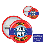 All My Times Tables Badges (10 Badges)