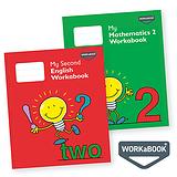 My Mathematics and English Workabooks 2