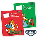 My Mathematics & English Workabooks 4