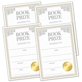 Book Prize Stickers (PRICE IS for 4 stickers - 139mm x 99mm)