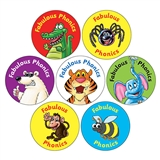 Fabulous Phonics Stickers (35 Stickers - 20mm)