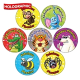 Holographic Fabulous Phonics Stickers (35 stickers - 20mm)