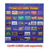 Blue CertifiCARD Holder (620mm x 600mm)