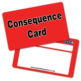 Consequence Card CertifiCARDS (Red x 10)
