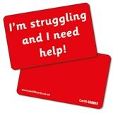 'I'm struggling and I need help' CertifiCARDS x 10