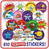 Scented Stickers Value Pack (810 Stickers)