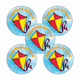 'Playtime Award' Kite Stickers (30 Stickers - 25mm)