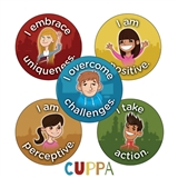 CUPPA Stickers (30 Stickers - 25mm)