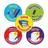 Homework Reward Stickers (30 Stickers - 25mm)