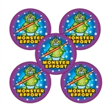 Monster Effort Stickers (30 Stickers - 25mm)