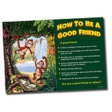 A1 Supersize Plastic How to be a Good Friend Poster