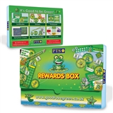 Sticker Box - Green - Recycled Plastic