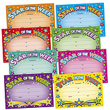 Star of the Week Megamix Certificates (48 Certificates - A5)