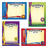 Teacher's Award Certificates (20 Certificates - A5) Brainwaves