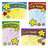 Star Award Certificates (20 Certificates - A5) Brainwaves