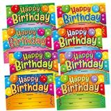 Happy Birthday Certificates - Megamix (48 Certificates - A5) Brainwaves