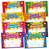 Teacher's Special Award Certificates - Megamix (48 Certificates - A5) Brainwaves