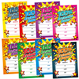 100% Attendance Award Certificates - Megamix (48 Certificates - A5) Brainwaves