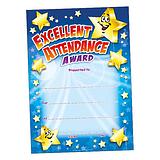 Excellent Attendance Award Certificates - Megamix (48 Certificates - A5) Brainwaves