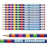 100% Attendance Pencils Pack of 12