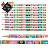 Pedagogs Pack of 12 Girl Pencils