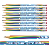Goodbye From Your Teacher Pencils (12 Pencils)
