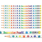 Superstar Pupil Pencils (Pack of 12)