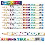 Reading Star Metallic Pencils (Pack of 12)