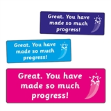 You Have Made So Much Progress! Stickers (56 Stickers - 46mm x 16mm)
