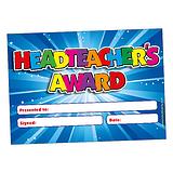 Headteacher's Award Glitter Certificates (20 Certificates - A5)