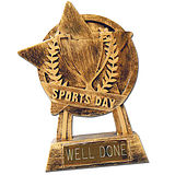 Sports Day Well Done Trophy LIMITED STOCK