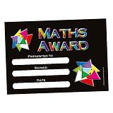 Pack of 20 Maths Award A5 Certificates