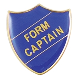 Form Captain Enamel Badge - Blue (30mm x 26.4mm)