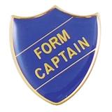 Form Captain Enamel Badge - Blue (30mm x 26.4mm)