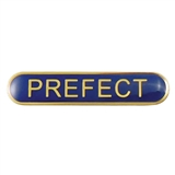 Prefect Enamel Badge - Blue (45mm x 9mm)