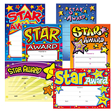 Star Certificates Megamix (160 Certificates - A5) Brainwaves