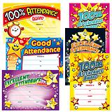 Attendance Certificates Megamix (160 Certificates - A5) Brainwaves