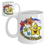 Star of the Week Ceramic Mug - Swirl
