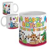 Happy Birthday from your Teacher Ceramic Mug - Party