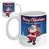 Merry Christmas from Your Teacher Ceramic Mug