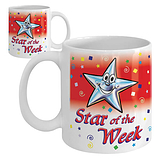 Star of the Week Ceramic Mug - Red