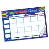 My Weekly Chart Pad - 40 Sheets (A4)