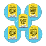 World Book Day Stickers (70 Stickers - 25mm)
