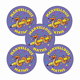 70 Marvellous Maths 25mm Stickers