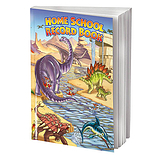 Dinosaur Themed 88 Page A5 Home School Record Book