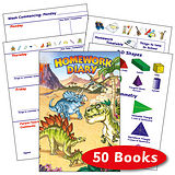 Homework Diary - Dinosaur (50 Books Included)