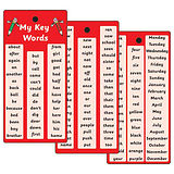 Initial High Frequency Key Words - Pack of 20 Pocket Prompts