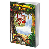 Reading Record Book - Jungle (A5 - 40 Pages)